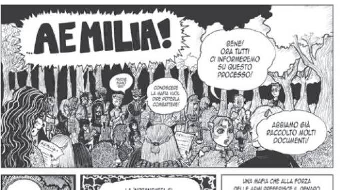 Il fumetto di Aemilia