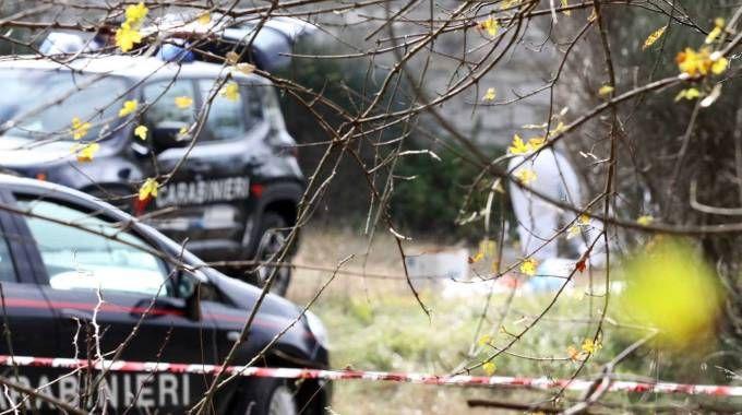 Il luogo dell'omicidio a Morignano