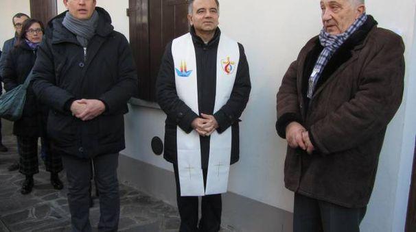 Il vescovo ha benedetto la struttura