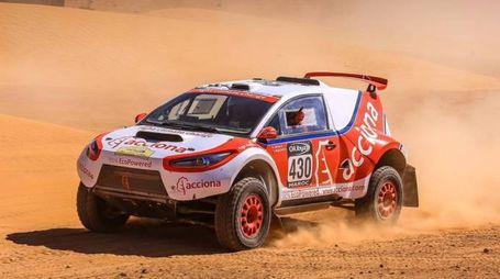 Acciona 100% EcoPowered, la prima elettrica a completare la Dakar - (Foto: Acciona)