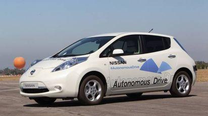 La Nissan Leaf a guida autonoma. I primi test da febbraio a Londra - (Foto: Nissan)