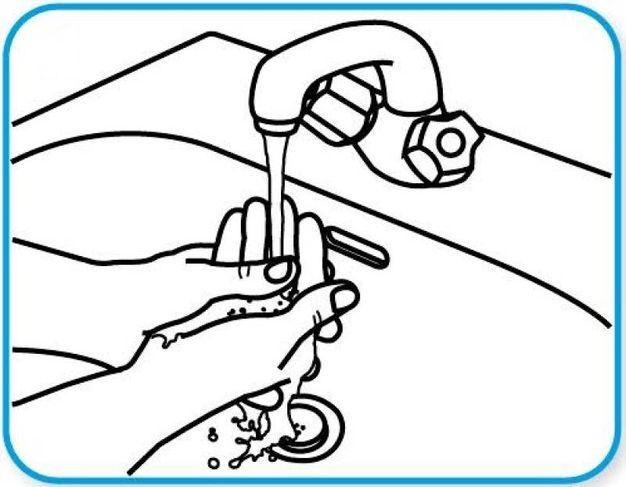 1 - Lavare bene le mani