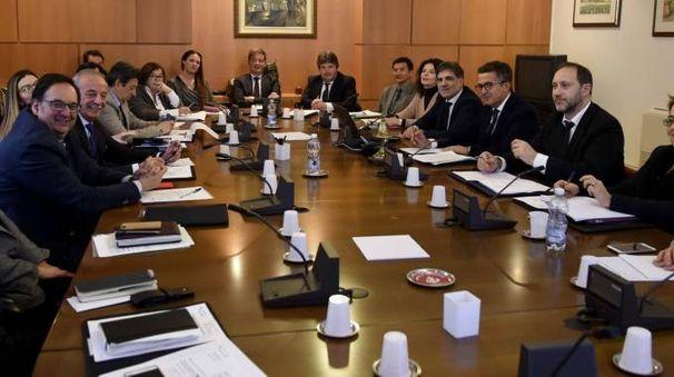 La camera di consiglio (foto Businesspress)