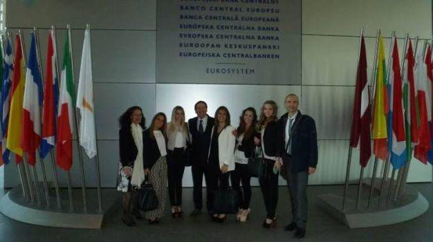 Visita alla Banca Centrale Europea