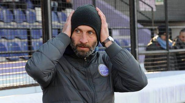 L'allenatore Fabrizio Salvigni