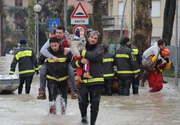 Bastiglia: l'alluvione del 2014