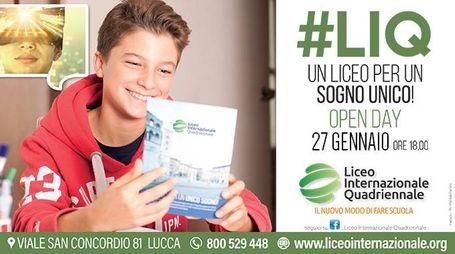 Open Day del Liceo Internazionale Quadriennale di Lucca