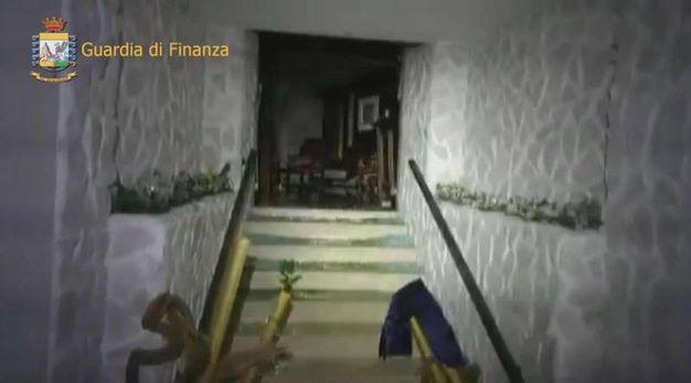La parte crollata dell'hotel di Farindola