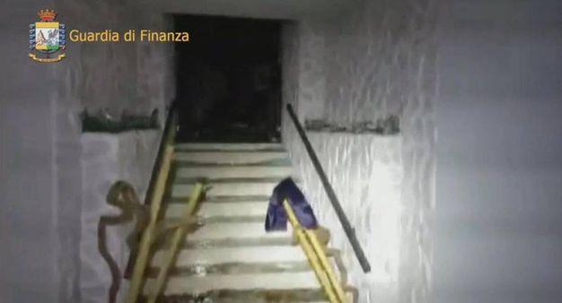 Una parte di albergo è crollata