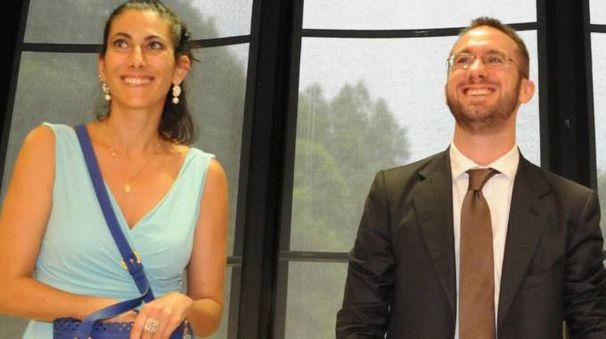Manuela Mongili e Paolo Micheli
