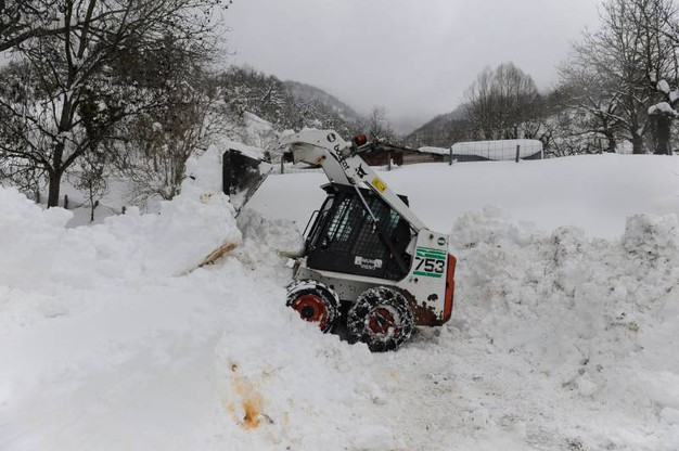 Neve a Visso (Foto Calavita)