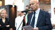 Il discorso inaugurale del presidente Lorenzo Cagnoni (foto Petrangeli)