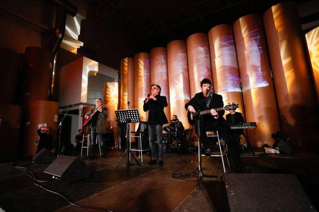 La band bolognese degli Stadio al Carlino (fotoSchicchi)