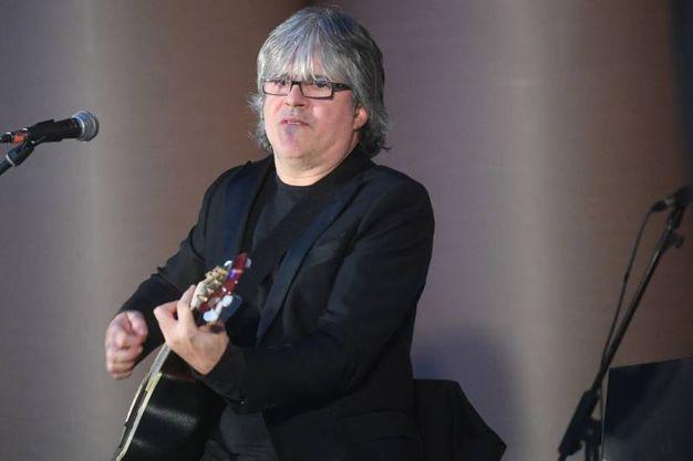 Il chitarrista Andrea Fornili (fotoSchicchi)