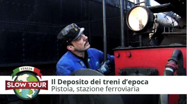 Pistoia: Deposito dei treni d'epoca