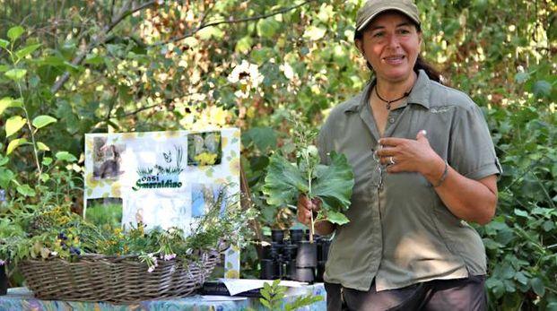 Catia Acquaviva (nella foto) è la responsabile dell'associazione Ape Natura (Mdf)