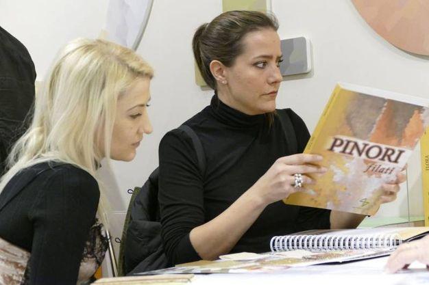 Pitti Filati, la prima giornata (foto Gianni Attalmi)