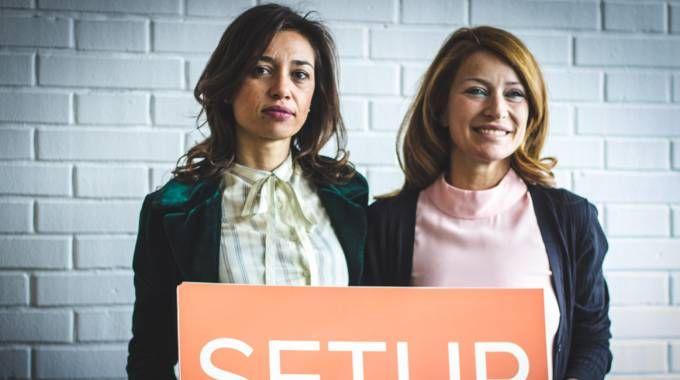 Simona Gavioli e Alice Zannoni di SetUp