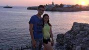 Marco Tanda, maceratese, e la fidanzata Jessica Tinari, di Lanciano