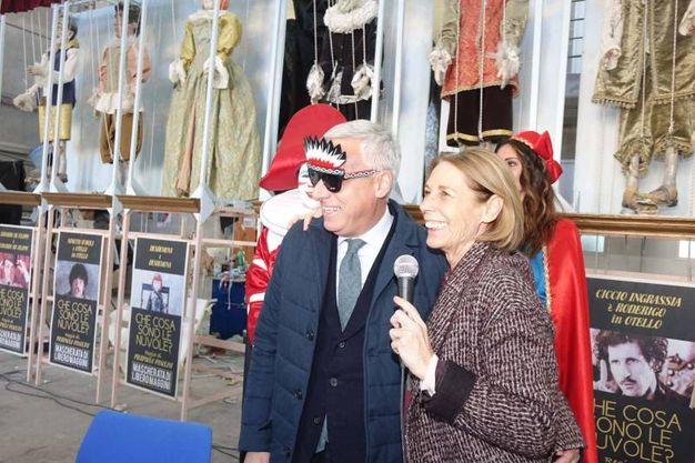 La presentazione del Carnevale di Viareggio 2017 (foto Umicini)
