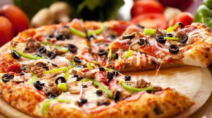 Una pizza (foto di archivio)
