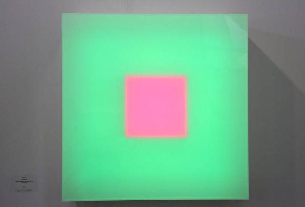 L'opera del grande musicista Brian Eno. 'Clearing' è alla Galleria Paul Stolper (Schicchi)