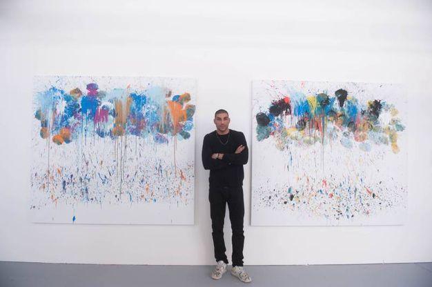 Hassan, laureato all'accademia di Brera, ama molto Pollock (Schicchi)