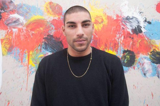 L'opera di Omar Hassan è esposta nello stand A83 al padiglione 25 (Schicchi)