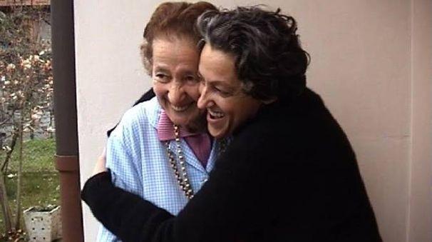 Ede Bartolozzi con la figlia Paola Valentini
