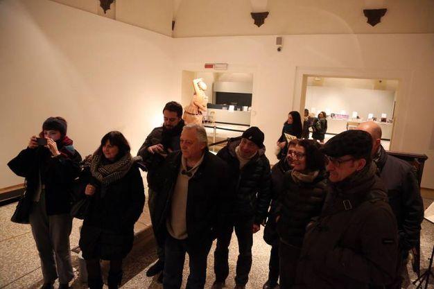 Tanti visitatori a Palazzo Fava (Schicchi)