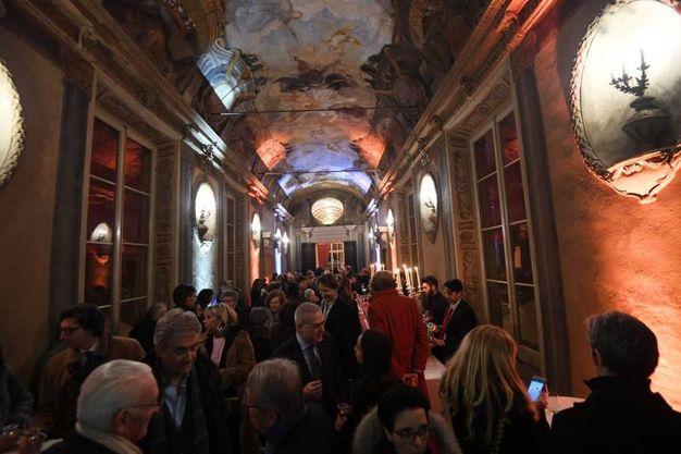 Arte Fiera, la White night in galleria Cavour (foto Schicchi)