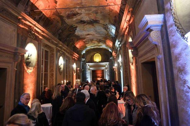 La Meridiana di galleria Cavour per la Notte bianca di Arte Fiera (foto Schicchi)