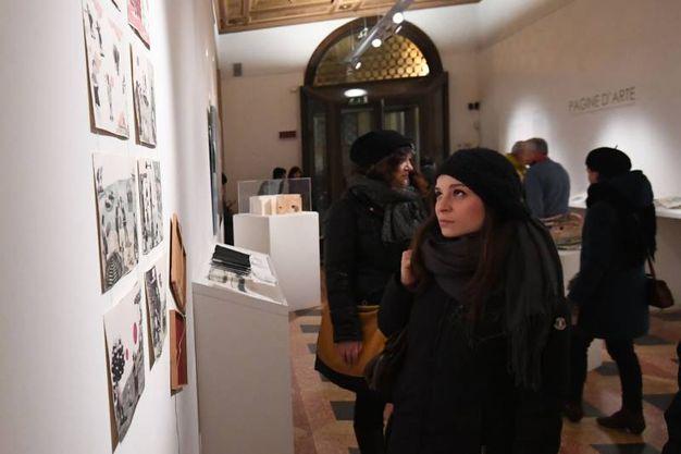 Arte Fiera, White night a palazzo Saraceni (foto Schicchi)