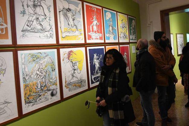 Arte Fiera, White night a Palazzo Belloni (foto Schicchi)