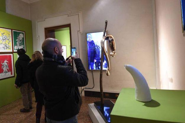 Arte Fiera, la mostra Dalì Experience a Palazzo Belloni (foto Schicchi)