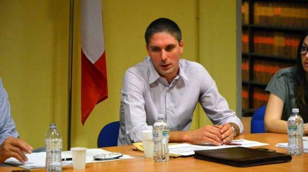 Il sindaco Daniele Saltarelli (Gazzola)