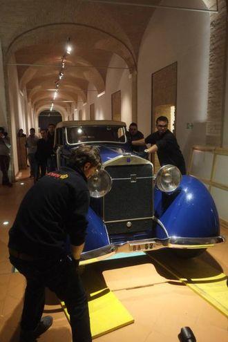 Il bolide fu chiamato da D'Annunzio 'Traù' in omaggio alla città martire della Dalmazia (Foto Frasca/Fantini)
