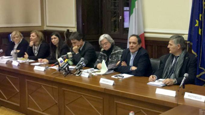 La seduta della commissione antimafia