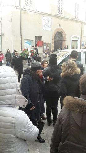 Commozione alle esequie di Alessandro Vitaletti (foto Di Marco)