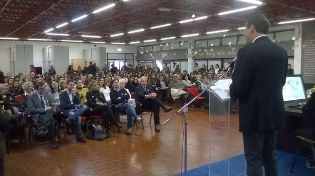 La cerimonia al Calamandrei con docenti, studenti e genitori