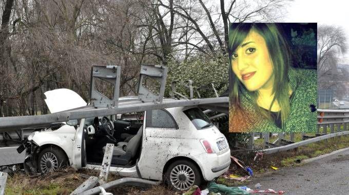 Tragico incidente in auto, morta Tiziana Mangano
