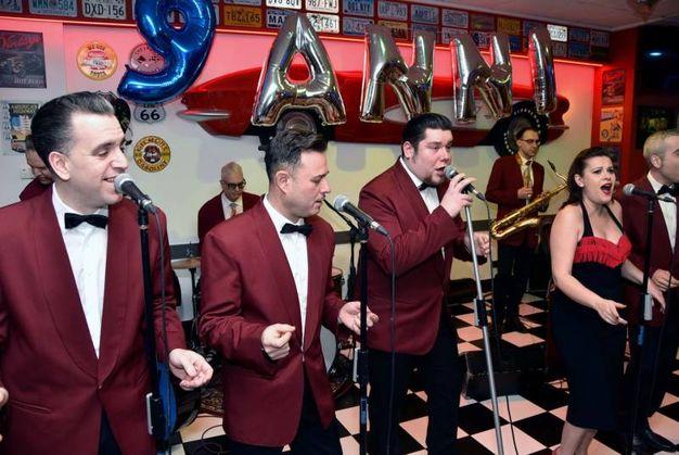 Musica alla festa di compleanno (foto Fantini)