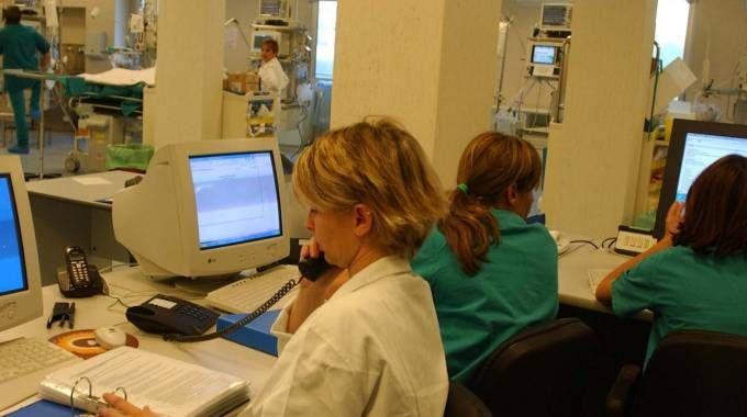 Monza, reparto di terapia intensiva