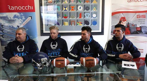 Football americano, la presentazione dei Ranocchi Uta (Fotoprint)