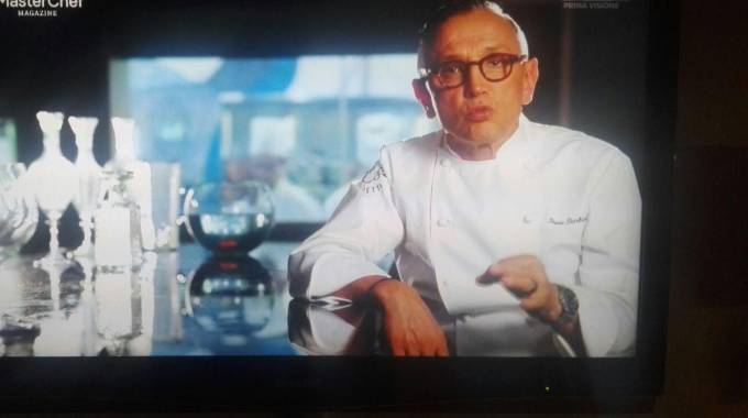 Bruno Barbieri a Masterchef Magazine