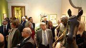 Tanti gli ospiti di EmilBanca che hanno partecipato alla cena a tema a Palazzo Belloni (Schicchi)