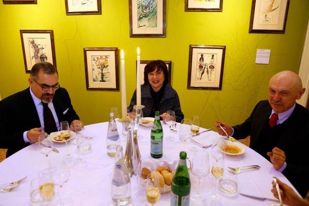 Paolo Longobardi, Maria Grazia Caputo e Rossano Salicini (Schicchi)