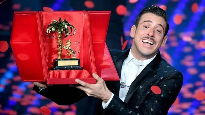Francesco Gabbani è il vincitore di Sanremo 2017 (Ansa)