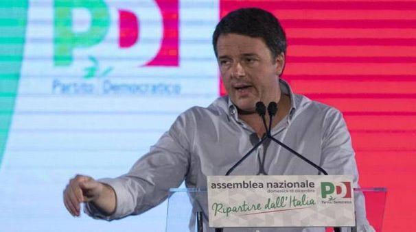 Pd, Matteo Renzi (Ansa)