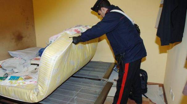 SGOMBERO L'operazione è stata condotta dai carabinieri (Archivio)